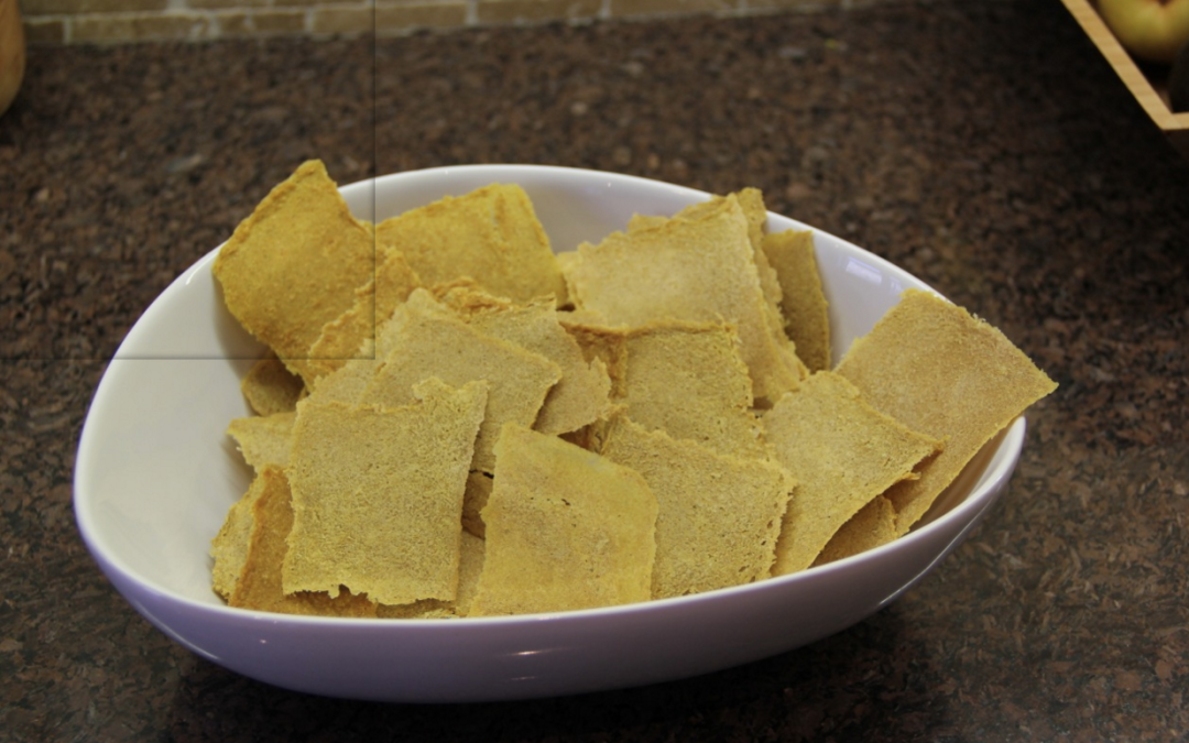 Tortilla crackers (dehydrator)